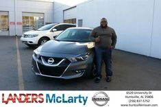 Congratulations eric on your #Nissan #Maxima from Sylvester Redix at Landers McLarty Nissan !  https://deliverymaxx.com/DealerReviews.aspx?DealerCode=RKUY  #LandersMcLartyNissan