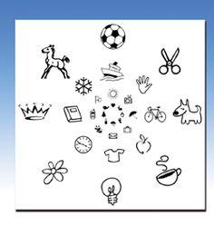 Children'sPeripheral Awareness Chart (Pkg. of 30) (VTE)