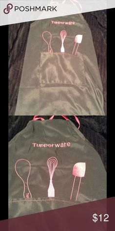 NEW Tupperware Apron with Logo for Consultants NEW Tupperware Apron with Logo for Consultants Tupperware Other