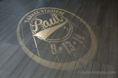 Bar Mitzvah Logo / Gobo - New York Yankees Baseball Theme {Party Planner: The Event of a Lifetime} - mazelmoments.com