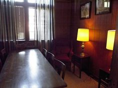 Frank's Study (named after Frank, the Library's ghost), Houghton Memorial Library, Huntingdon College. Huntingdon College, College Board, Ghosts, Study, Memories, Home Decor, Memoirs, Studio, Souvenirs