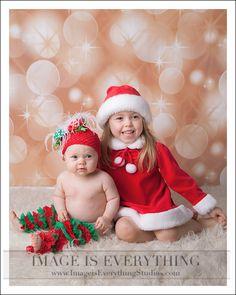 Christmas Sisters ~ NJ Christmas Photographers and Portrait Studio
