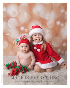 Christmas Sisters ~ NJ Christmas Photographers and Portrait Studio