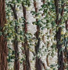 Minninglow Beeches, Summer – Cognissart Textile Art, Asparagus, Summer, Studs, Summer Time