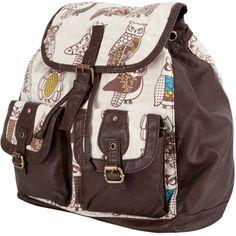 owl backpack