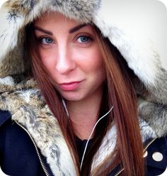 Cute Girl in RabbitFur lined Coat! Fur Lined Coat, Rabbit Fur Coat, Cute Girls, Coats, Selfie, Jackets, Down Jackets, Wraps, Coat