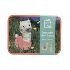 Lorenzo the Llama is a simple sewing kit for children from Gift in a Tin. Sew up Lorenzo and take pride in your gorgeous soft toy. Craft Kits For Kids, Crafts For Kids, Arts And Crafts, Childrens Gifts, Ready To Play, Sewing Kit, Unusual Gifts, Learn To Sew, Toys For Girls