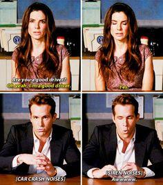 The proposal Sandra Bullock and Ryan Reynolds