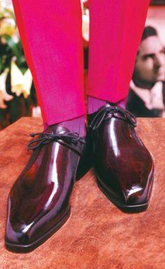 Berluti обувь с прекрасным блеском!