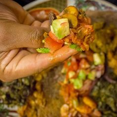 Eating food with your fingers make the food taste so much better...... The African way #Mekmuv #mekmuv_chefmuv #vegan #veganfoodshare #yogi #kingston #jamaica #africa #miami #newyork #foodporn #privatechef #cheflife #nyc #newyorkcity #california #whatveganseat #italisvital #veganchef #healthy #fitness #theartofplating #foodblog #chef #instagood #vegansofig by mekmuv_chefmuv