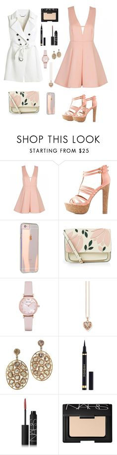 Concert by gabriellaallen on Polyvore featuring White House Black Market, Charlotte Russe, Accessorize, Emporio Armani, Thomas Sabo, NARS Cosmetics and Yves Saint Laurent