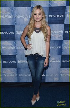 Olivia Holt at the People StyleWatch Denim Event
