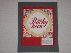 Stampin' Up! Peachy Keen