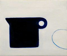 William Scott, Poem for a Jug, No. 4, 1979–80, Oil on canvas, 25.3 × 30.3 cm / 10 × 12 in, Jerwood Gallery, Hastings