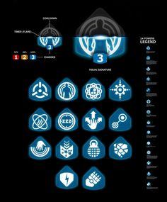 ArtStation - Mass Effect Andromeda - UI Design, Eric Bellefeuille Game Ui Design, Glyph Icon, Aesthetic Template, Sport Icon, Game Icon, Ui Inspiration, Mass Effect, Glyphs, Badges