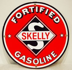 SKELLY FORTIFIED GASOLINE