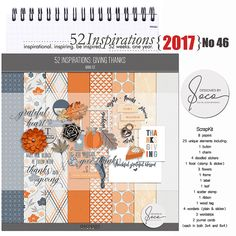 52 Inspirations 2017 - no 46 - Giving Thanks by Designed by Soco