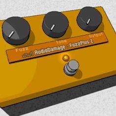 'FuzzPlus' Efecto Fuzz de Audio Damage (VST y AU Gratis)