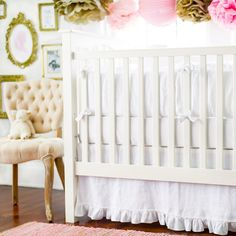 FREE SHIPPING! Shop Wayfair for New Arrivals Madison Avenue 2 Piece Crib Bedding Set - Great Deals on all Furniture products with the best selection to choose from!