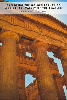 If you are in search of history and archaeology while on vacation in Agrigento, Sicily, its magnificent UNESCO World Heritage Site, the Valley of the Temples, is the place to go. This is your ultimate travel guide to La Valle dei Templi. Get insider travel itineraries, tips, and lifestyle content on the world's most exceptional destinations, experiences and products. Check out travel blog SVADORE for more.