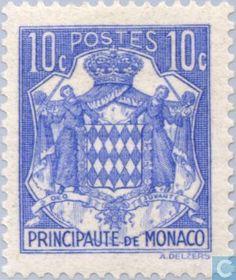 Monaco - Coat of arms 1937
