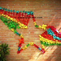 Origami Installation for MTV done by Himanshu Agrawal.