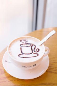 caramel macchiato by MinhVisual #Coffee #Latte #BuffaloBucksCoffee