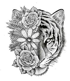 [New] The 10 Best Tattoo Ideas Today (with Pictures) - Dream Tattoos, Future Tattoos, Rose Tattoos, Body Art Tattoos, Small Tattoos, Sleeve Tattoos, Dragon Tattoos, Skull Hand Tattoo, Tiger Tattoo