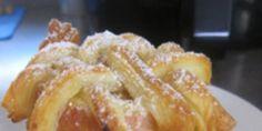 Airfryer: Bratapfel mit Blätterteig