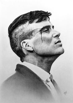 Tommy Shelby Tommy Shelby charcoal and graphite on white pastel paper. - Tommy Shelby Tommy Shelby charcoal and graphite on white pastel paper. Peaky Blinders Poster, Peaky Blinders Wallpaper, Peaky Blinders Series, Peaky Blinders Quotes, Peaky Blinders Tommy Shelby, Peaky Blinders Thomas, Cillian Murphy Peaky Blinders, Tattoo Drawings, Art Drawings