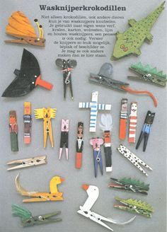 Fun ideas for clothespin crafts