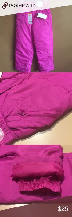 Girls Snow Pants size Small (5-6) New with Tags by Gymboree Gymboree Bottoms Sweatpants & Joggers