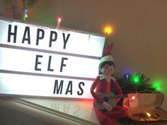"Elf on a Shelf ""Busker Elf"" hoping to make some quick cash"
