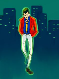 Lupin III - Cityscape by bluestraggler on DeviantArt
