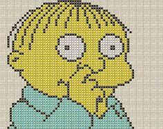 Ralph - The Simpsons Cross Stitch Pattern