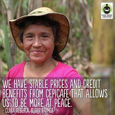 Sugar farmers can build better lives for their families when you choose Fair Trade.