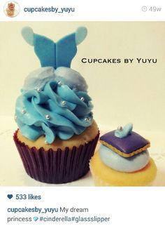 Cupcakes by tutu - cinderella cupcake
