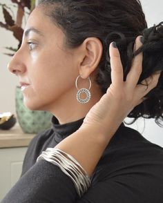 @walkthetalkjewelry posted to Instagram: New additions <3 Autumn is almost over. Are you in XMAS mood yet? Antique Silver Hoop Earrings ---> LINK IN BIO -------------- Enjoy our offers ---> 20% off on 3 items or more, up to 30% off on selected styles & Free Shipping on eligible orders -------------- Fancy this??? Get an instant 15% off this item by subscribing to our newsletter ---> LINK IN BIO #newjewelry #bohemianstyle #earringswag #freepeople #holidaystyle