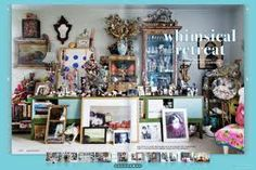 My DREAM home, Linda Rodin's apartment. I would die to live here.