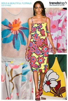 FASHION VIGNETTE: TRENDS // TRENDSTOP - SS 2016 PRINT AND FLORAL PATTERNS