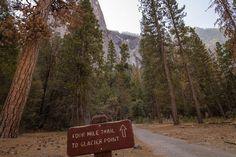 Départ du Four Mile Trail / Yosemite National Park
