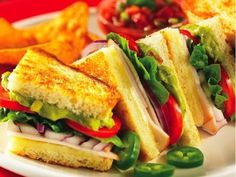 """""""South of the Border Turkey Panini"""" from Cookstr.com #cookstr"""