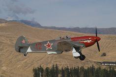 Restored Yak 3 ,New Zealand Ww2 Aircraft, Fighter Aircraft, Fighter Jets, Russian Military Aircraft, Jet Plane, Military History, World War Ii, Wwii, Aeroplanes