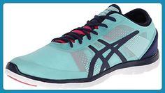 Asics Gel-Fit Nova Damen Blau Kreuz Trainingsschuhe EU 39,5 - Sneakers für frauen (*Partner-Link)
