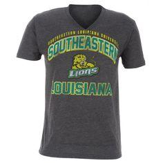 Majestic Adults' Southeastern Louisiana University Section 101 V-neck T-shirt