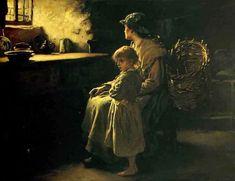 Waiting by Frank Holl