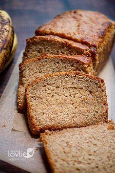 Vegan Banana Bread — Fluffy & Yummy!