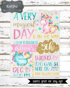 **Printable Custom Invitation** 1 JPEG Invitation file in chosen size sent to your EMAIL that you provide. Watermark / shop name will not appear on final image. **How to order** Choose the size for your invitation. Please send an email to me at jonishamley@gmail.com please make sure to include necessary information needed to customize your invitation, as well as the invitation size you prefer. Including but not limited to: Child's Name, Child's Age, Party Date, Party Time, Pa...