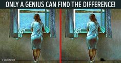 Only Geniuses Are Able toFind All the Differences inThese9 Images
