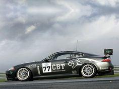 Jaguar XKR GT3 race car